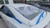 ¿Tu auto resultó afectado por la tormenta en Texas? Sigue estas recomendaciones para hacer el reclamo a tu seguro