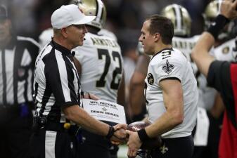 En fotos: Drew Brees hace historia y los Saints apalean 43-19 a los Redskins en el MNF