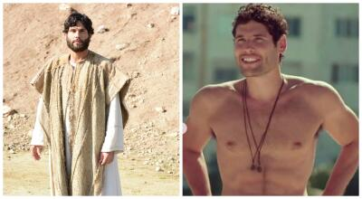 Conoce a los personajes de 'Jesús' con y sin caracterización