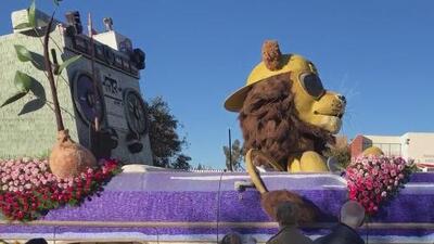 Carrozas que participaron en el Desfile de la Rosas estarán disponibles al público en Pasadena