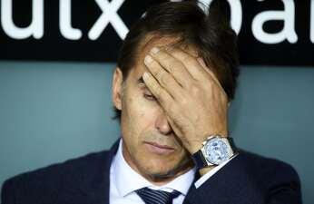 La lista de espera en el Real Madrid por si Julen Lopetegui fracasa