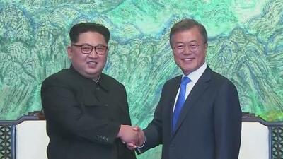 !Se acabó la guerra! Kim Jong Un hizo historia al  cruzar la frontera para cumbre de las dos Coreas
