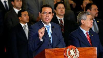 Crisis política en Guatemala tras la decisión del presidente Jimmy Morales de dar por terminado el mandato de la CICIG