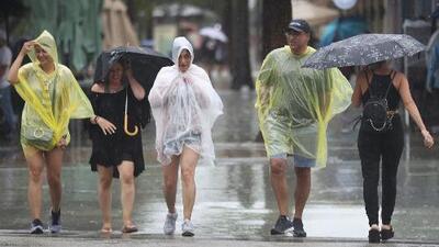 Posibilidad de precipitaciones y tormentas aisladas durante la mañana de este lunes en el sur de Florida