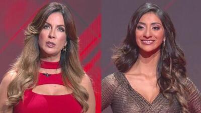 Carmen Batiz y Elvira Reyes se enfrentan en vivo en el escenario de Nuestra Belleza latina