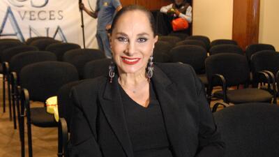 """Susana Dosamantes cree que Angelique Boyer se va a consagrar con """"Tres Veces Ana"""""""