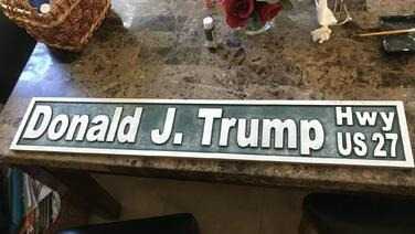 Alcaldes se oponen a ponerle el nombre de Donald Trump a una carretera de Florida