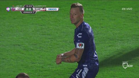 ¡Era el gol del año! Genialidad de Menéndez para Veracruz