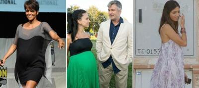 Famosas y embarazadas