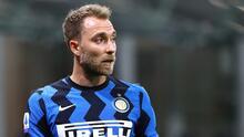 Aseguran que Conte humilla a Eriksen en el Inter de Milán