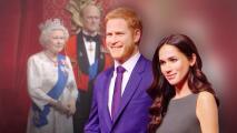 Hasta las estatuas de Meghan y Harry perdieron los títulos reales: trasladan sus figuras lejos de la reina Isabel