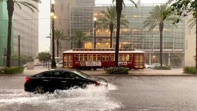 Preocupa la subida del nivel del mar que traería la tormenta tropical Barry en Louisiana
