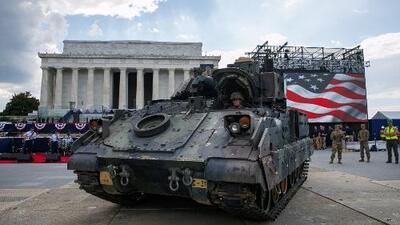 La incógnita de lo que costará la exhibición militar ordenada por Trump para conmemorar el 4 de julio