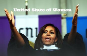 Los Estados Unidos de las Mujeres de Michelle Obama