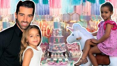 La hija de Toni Costa festejó sus 4 años con una fiesta llena de unicornios