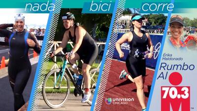 "Sigue a Érika Maldonado ""Rumbo al 70.3 Ironman"""