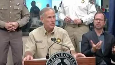 Gobernador de Texas advierte sobre el peligro de las inundaciones y anuncia ayudas para damnificados
