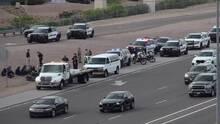Descubren a 17 inmigrantes en un vehículo durante una parada de tráfico en la Interestatal 10
