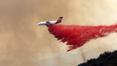 Incendio en Santa Bárbara provoca alerta para Los Ángeles y Orange