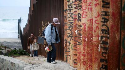 Trumpland vista desde la frontera