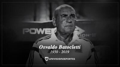 Osvaldo Batocletti, leyenda de Tigres, falleció víctima de cáncer