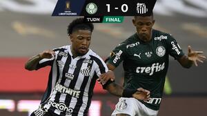 Palmeiras vence a Santos con un gol agónico y conquista la Libertadores