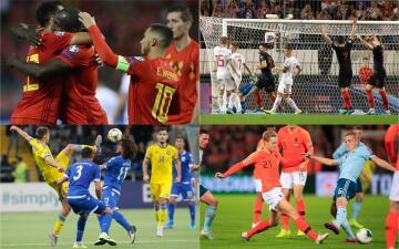 En fotos: los resultados de la jornada 7 de las eliminatorias rumbo a la Euro 2020