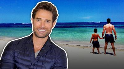 Sebastián Rulli se fue de vacaciones con su hijo, quien ya se ve enorme