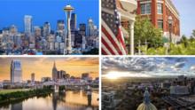 En estas 15 ciudades es más fácil conseguir trabajo en Estados Unidos