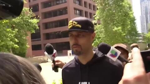 Así fue como Esteban Loaiza se entregó a las autoridades tras declararse culpable por posesión de drogas