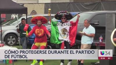 Confirman operativo policial después del juego entre México y Venezuela