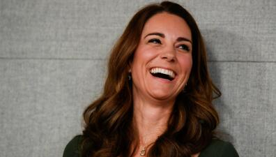 Kate Middleton: con esta radiante sonrisa y un vestido nuevo deja atrás todos los rumores