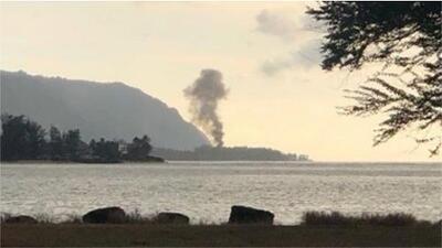 Al menos 11 personas mueren al estrellarse una avioneta en Hawaii