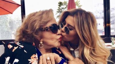 Michelle Salas ya vive con su novio en España y Silvia Pinal lo confirma