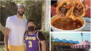 Tacos, redes y un campeón de baloncesto: La combinación de éxito para un taquero en Los Ángeles