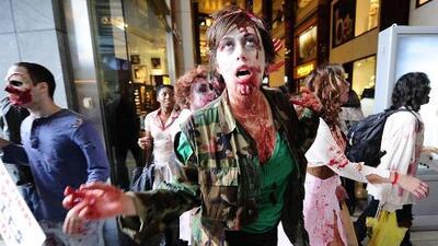 Festival zombie termina en tragedia