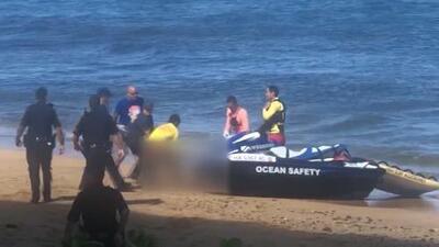 Un hombre muere en Hawaii tras ser atacado por un tiburón mientras nadaba