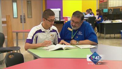 Antonio muestra la importancia del estudio