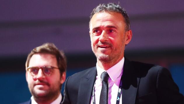 Luis Enrique 'cómodo' con el Grupo de España