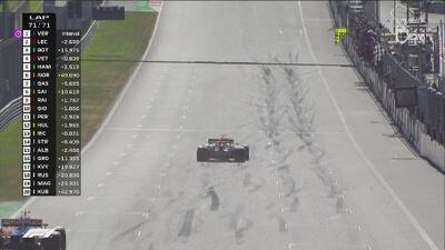 ¡Bandera de cuadros! Un genial Verstappen conquista el GP de Austria