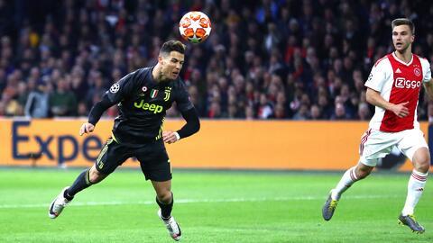 Seguimiento a la 'Máquina' Cristiano Ronaldo: jugó los 90 y marcó de palomita ante el Ajax
