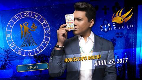 Niño Prodigio - Virgo 27 de abril 2017