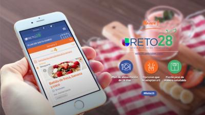 Regresa #Reto28, el plan de alimentación gratuito de Univision