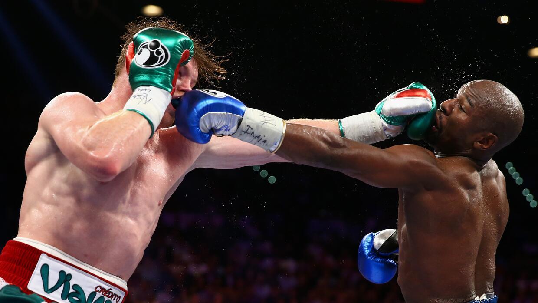 Image result for ¿Mayweather vs Canelo II? Óscar de la Hoya calcula que podría generar 1,500 mdd