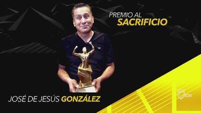 José de Jesús González, galardonado con el Premio al Sacrificio