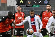 ¡Derrota inconcebible! PSG cae ante el colero Lorient