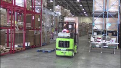 La Cruz Roja en Atlanta prepara ayuda para posibles afectados por el huracán Florence