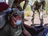 Patrulla Fronteriza trabaja para rescatar a migrantes de las altas temperaturas en el desierto