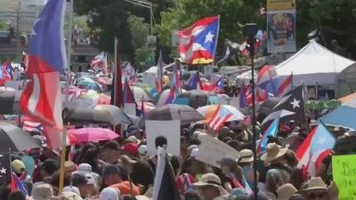 Las manifestaciones en contra de Ricardo Rosselló se intensifican y artistas siguen sumándose