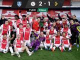 Edson Álvarez y Ajax son campeones de la Copa de Holanda